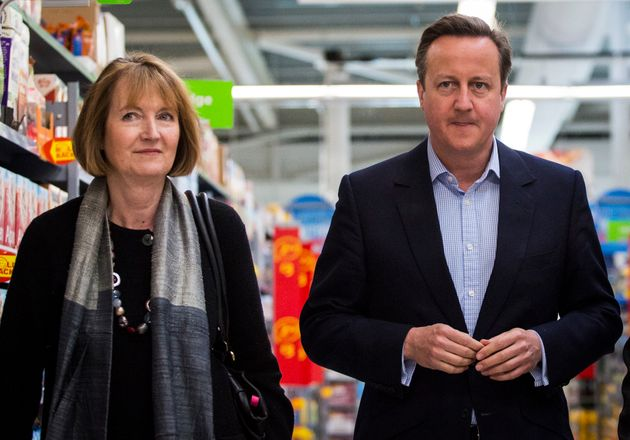 Harriet Harman and David