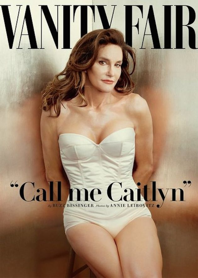 Caitlyn revealed herself to the world in a photo-shoot with Vanity Fair