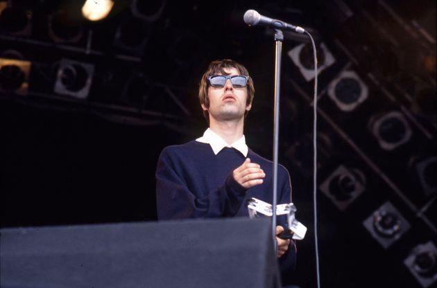 Liam Gallagher at Glastonbury in