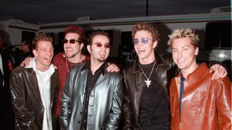 17jan2000  pop group nsync at...