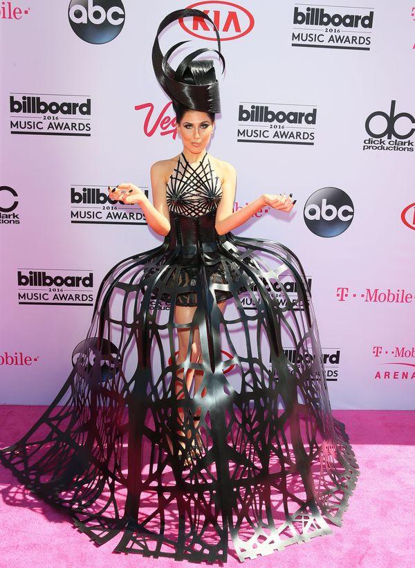 At theBillboard Music Awards in Las Vegas.