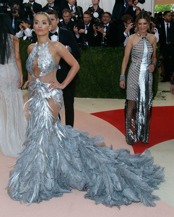 At the Met Gala in New York, New York.