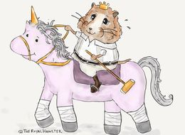 Artist Imagines Daydreams Of Royal Hamster And They're The Same As Ours