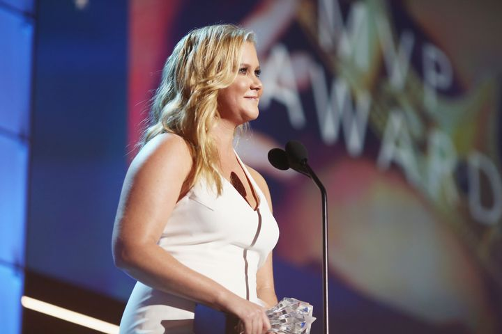 Amy Schumer spoke out against Hollywood's double standards when she accepted the Critics' Choice MVP Award in January.