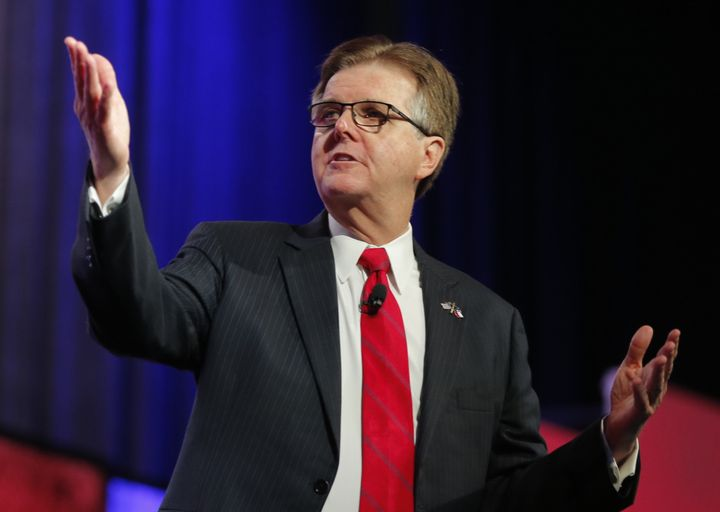 Texas Lt. Gov. Dan Patrick (R) is fired up about executive overreach on Title IX -- except, apparently, when it comes to coll