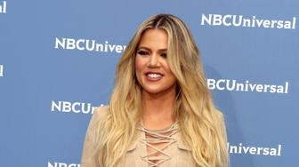 NEW YORK, NY - MAY 16:  Khloe Kardashian at the NBC Universal Upfronts on May 16, 2016 at Rockefeller Center in New York City.  (Photo by Steve Sands/Getty Images)