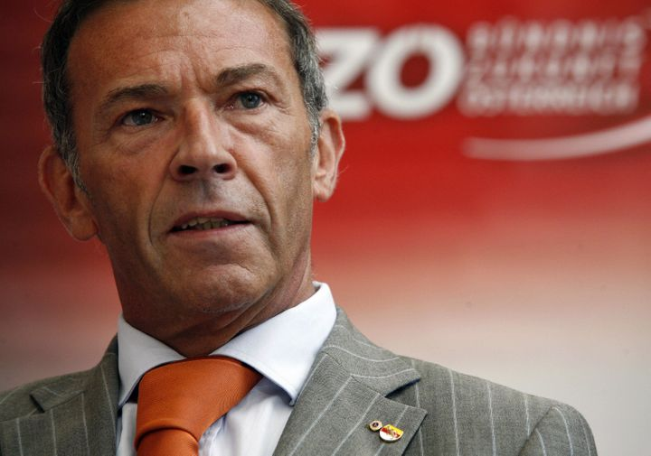 Former Freedom Party leader Jorg Haider, who died in a car crash in 2008.