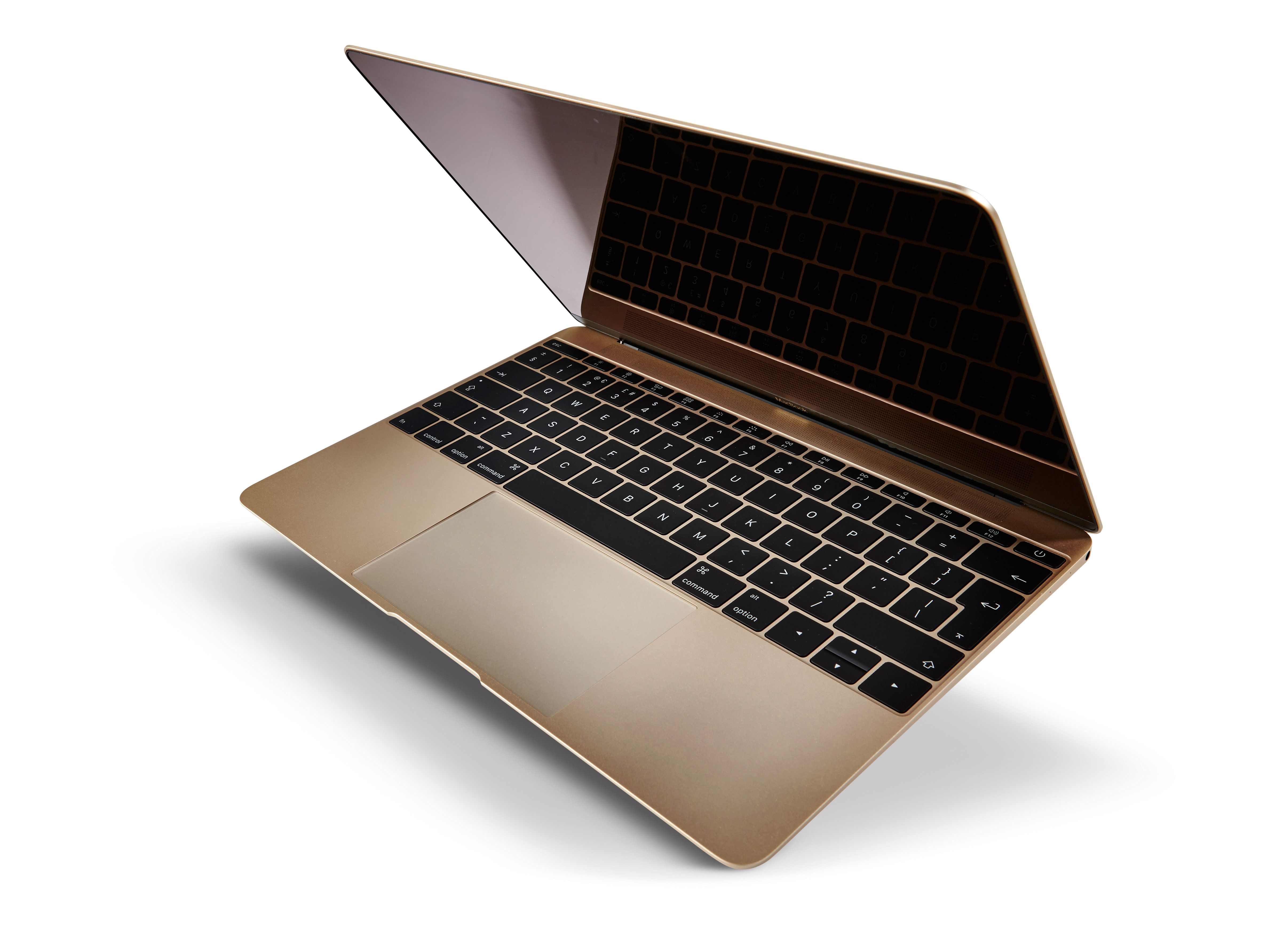 A 2015 Apple MacBook