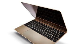 A 2015 Apple MacBook laptop computer, taken on August 13, 2015. (Photo by Joseph Branston/T3 Magazine via Getty Images)