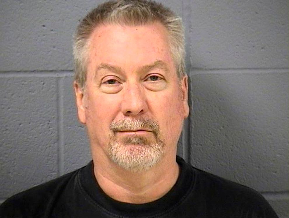 Former police sergeant Drew Peterson is pictured in this booking photo, released by the Will County Sheriff's Office in Illinois, United States on May 8, 2009.    REUTERS/Will County Sheriff's Office/Handout/File Photo