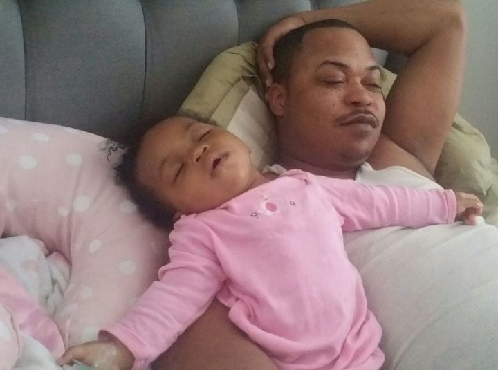 Kalon and his daughter, Marley; photo courtesy of Eliza M. Belle
