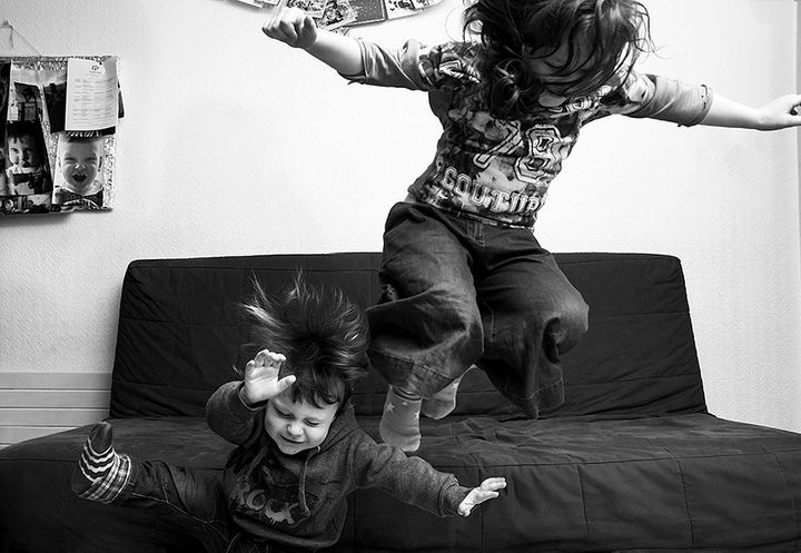 For photographer Tomasz Laskowski, the most ordinary moments in his children's lives are often the most beautiful.