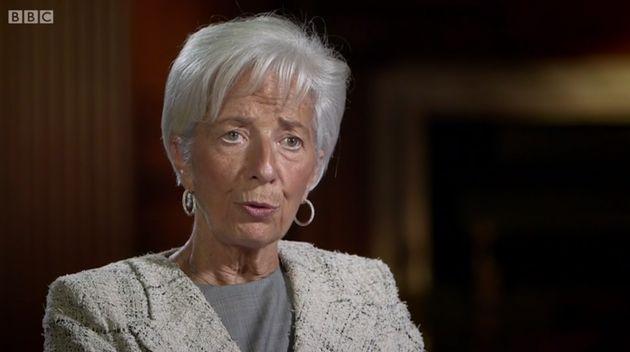 IMF chiefChristine