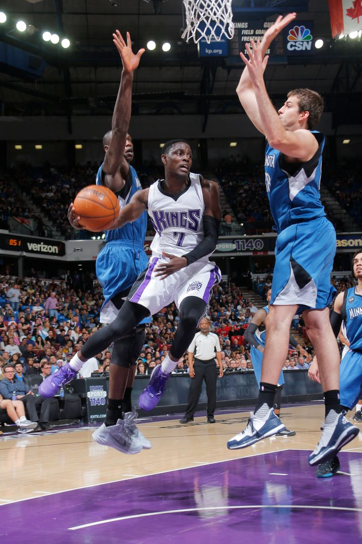 Darren Collison, No. 7 of the Sacramento Kings, was arrested Monday.