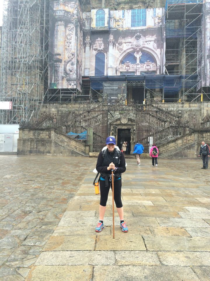 Finished El Camino de Santiago<br />Spain 2015