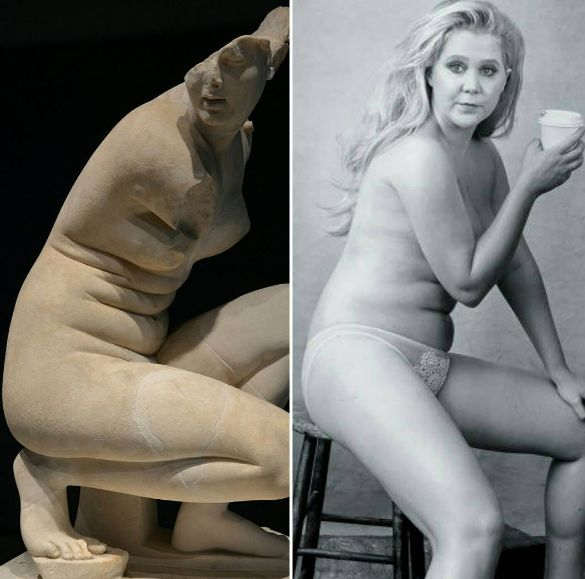 Amy Schumer Is A Greek Goddess In Post Preaching Body