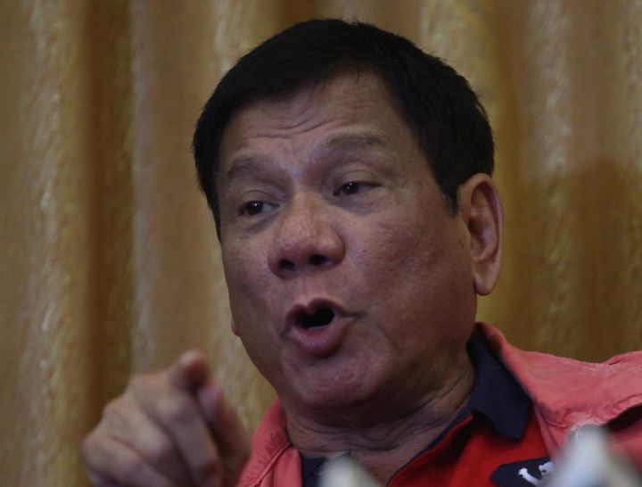 Philippine President-elect Rodrigo Duterte sparked an outcry for saying journalists were not exempted from assassination.