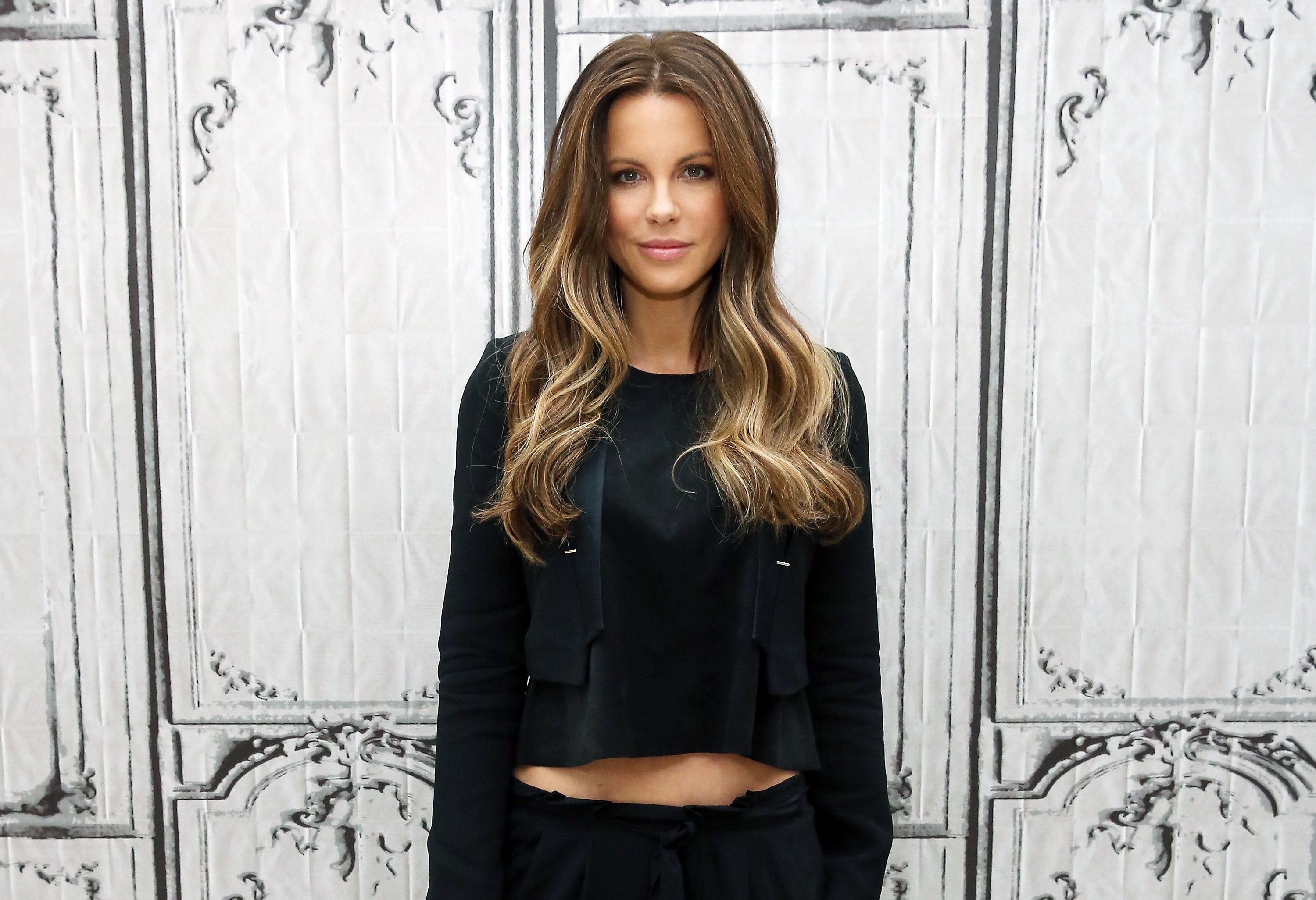 NEW YORK, NY - MAY 11:  Actress Kate Beckinsale visits AOL Studios for AOL Build Speaker Series - Whit Stillman and Kate Beckinsale, 'Love & Friendship' at AOL Studios In New York on May 11, 2016 in New York City.  (Photo by Monica Schipper/FilmMagic)