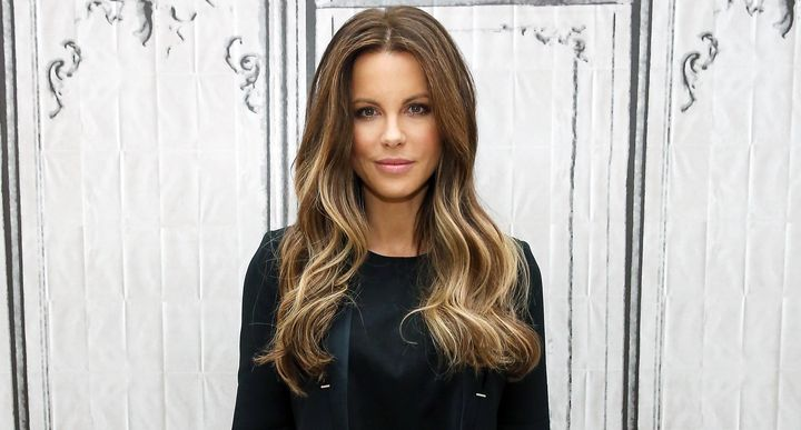 Kate Beckinsale visits AOL Studios for AOL Build Speaker Series in 2016.