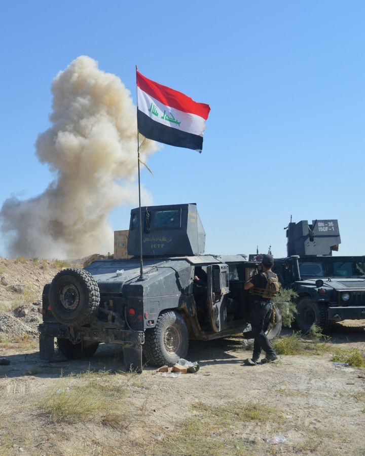 The government, backed by world powers including the United States and Iran, has vowed to win back the first major Iraqi city that fell to ISIS in 2014.