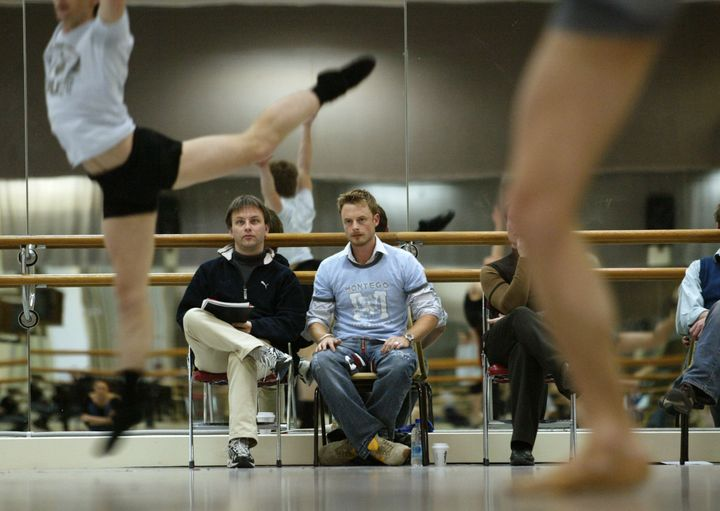 Christopher Wheeldon, when he was artist in residence with the New York Ballet.