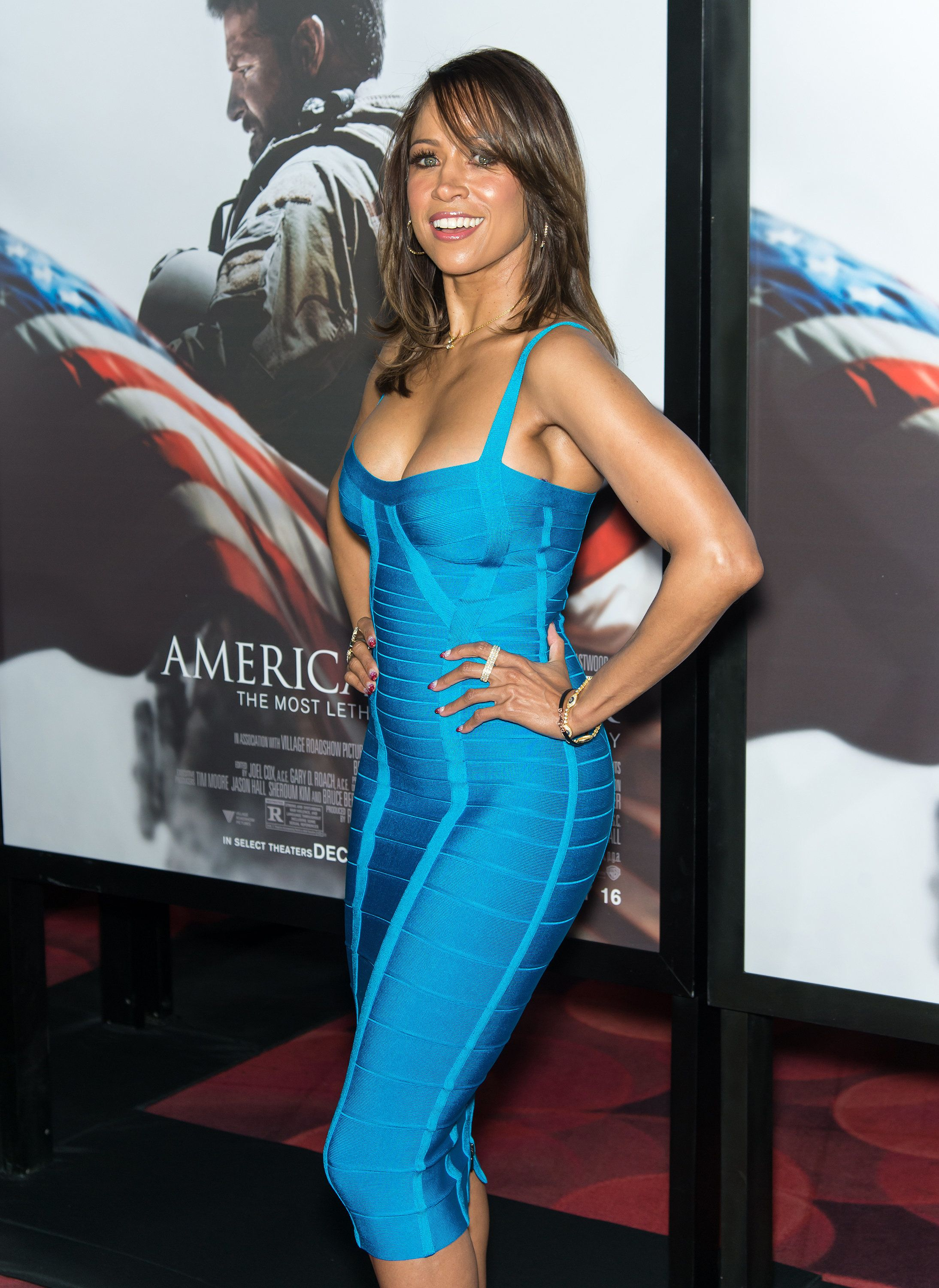 NEW YORK, NY - DECEMBER 15:  Actress Stacey Dash attends the 'American Sniper' New York Premiere at Frederick P. Rose Hall, Jazz at Lincoln Center on December 15, 2014 in New York City.  (Photo by Gilbert Carrasquillo/FilmMagic)