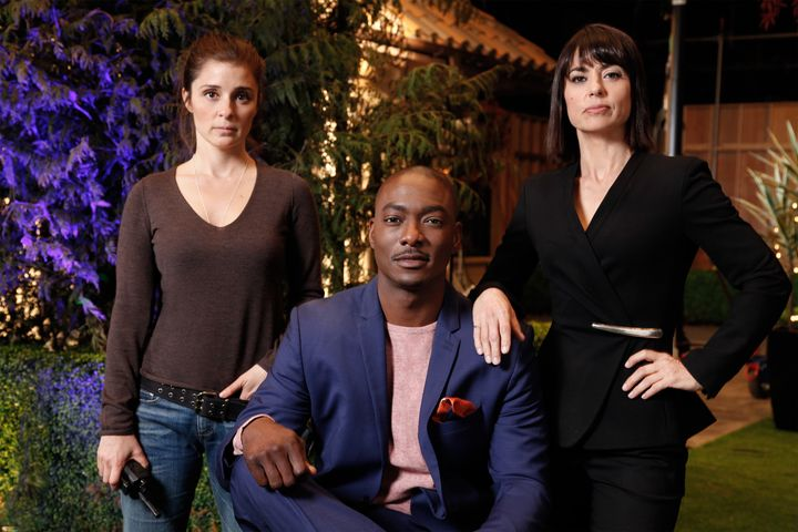 """Shiri Appleby, B.J. Britt and Constance Zimmer star in Season 2 of """"UnREAL."""" Britt plays Darius Hill, the new suitor on """"Ever"""