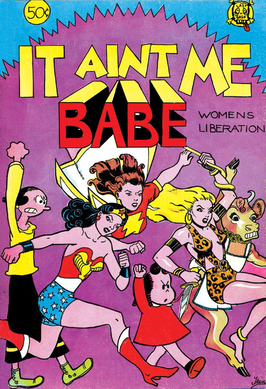 The Radical Story Behind The First All-Women Feminist Comic Books