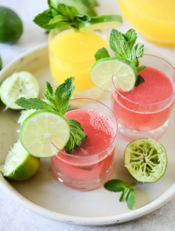"<strong>Get the <a href=""http://www.howsweeteats.com/2013/04/agua-fresca-two-ways/"" target=""_blank"">Watermelon Agua Fresca re"