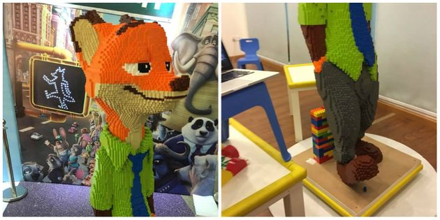 LEGO 'Zootopia' Statue Worth £10,000 Knocked Over By Child At Public