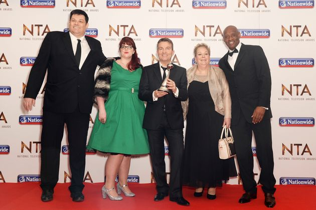Anne at the NTAs in