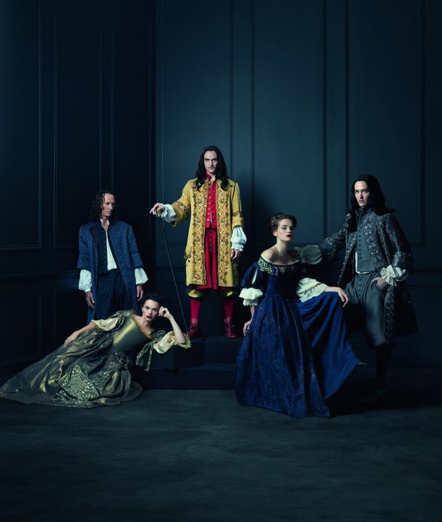 'Versailles' debuted in the UK this