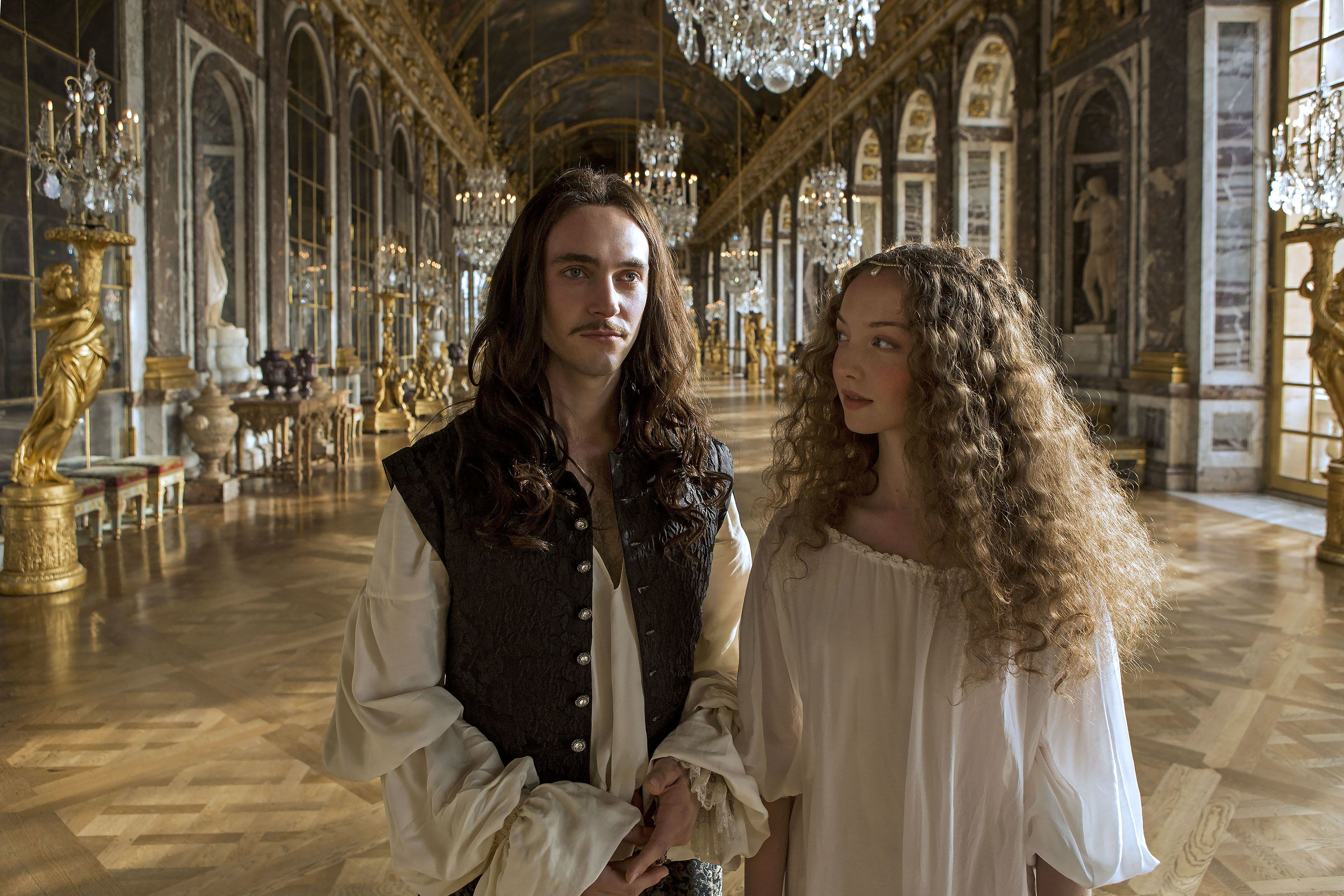 George Blagden and Alexia Giordano in