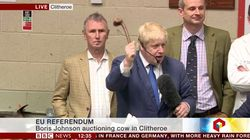 Boris Johnson Just Auctioned A Cow for Brexit