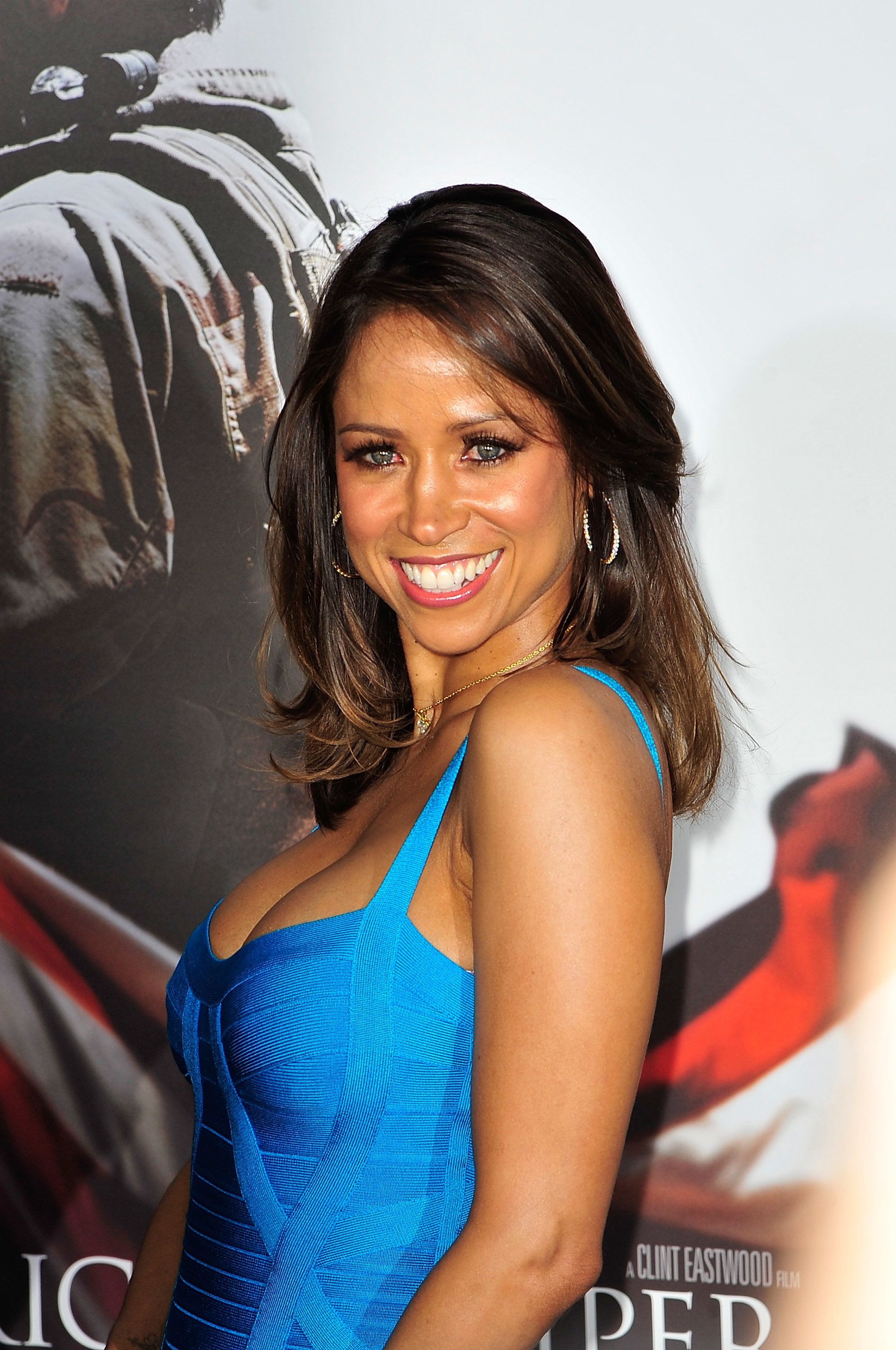 NEW YORK, NY - DECEMBER 15:  Stacey Dash attends 'American Sniper' New York Premiere at Frederick P. Rose Hall, Jazz at Lincoln Center on December 15, 2014 in New York City.  (Photo by Chance Yeh/FilmMagic)