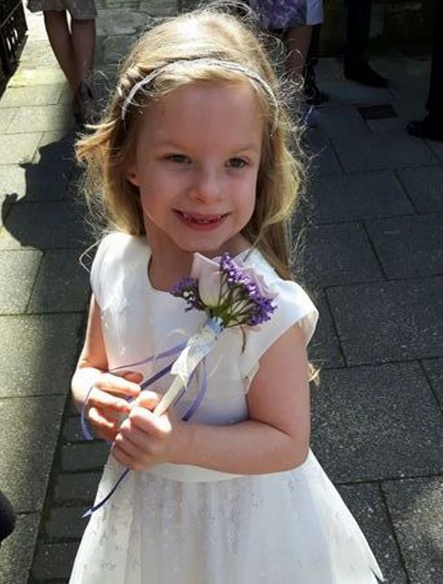 Keziah, six, was found unconscious next to the body of her father, Darren