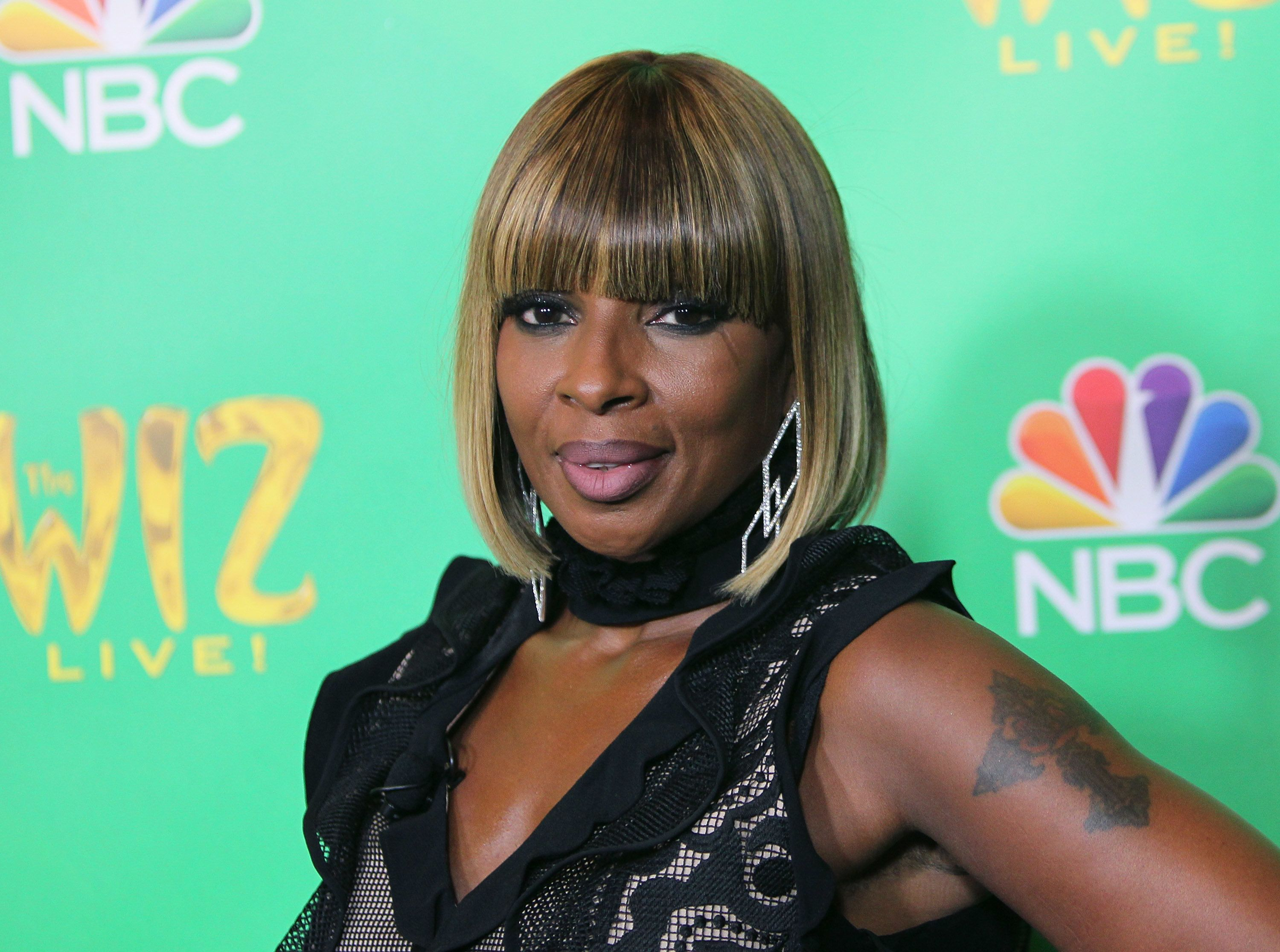 WEST HOLLYWOOD, CA - JUNE 01:  Singer Mary J. Blige attends a Television Academy event for NBC's 'The Wiz Live!' at the Director's Guild Of America on June 1, 2016 in West Hollywood, California.  (Photo by David Livingston/Getty Images)