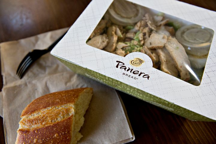 Food at fast casual restaurants like Panera and Chipotle contains more calories on average than meals at fast food restaurants.