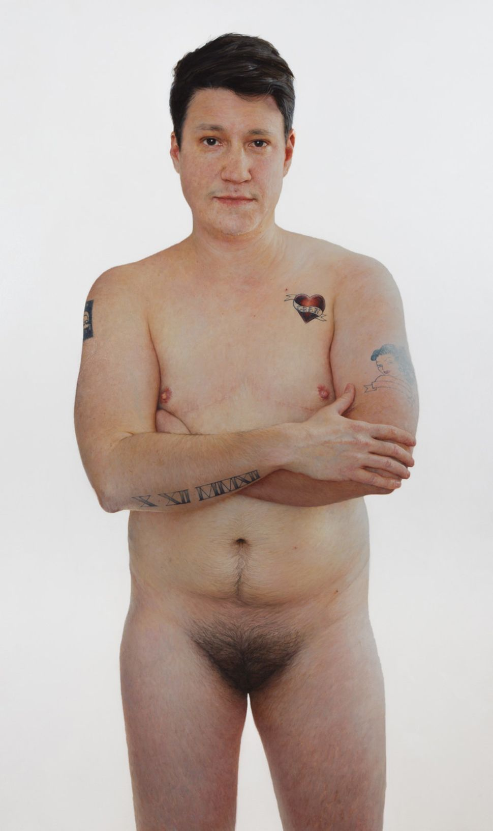 Unflinching Nude Portraits Explore The True Spectrum Of Gender Huffpost