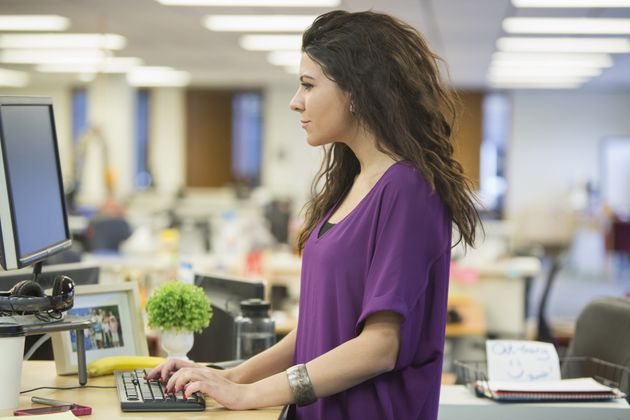 Here's Another Reason For Standing Desk Users To Feel