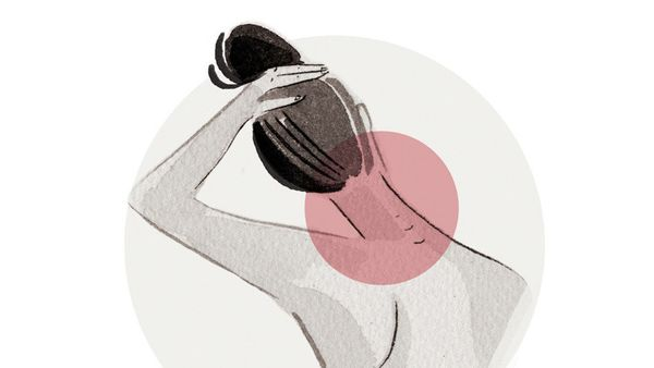 Neck pain is often due to muscle strain, and it's seen among people who spend long hours hunched over a computer or a phone.