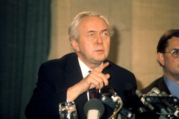 Former Prime Minister Harold