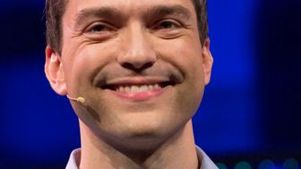 AMSTERDAM, NETHERLANDS - MAY 24: Nathan Blecharczyk, CEO of Airbnb, attends the kick-off of Startup Fest Europe on May 24, 2016 in Amsterdam, The Netherlands. The event facilitates match-making between investors and startup entrepreneurs from all over the world. (Photo by Michel Porro/Getty Images)