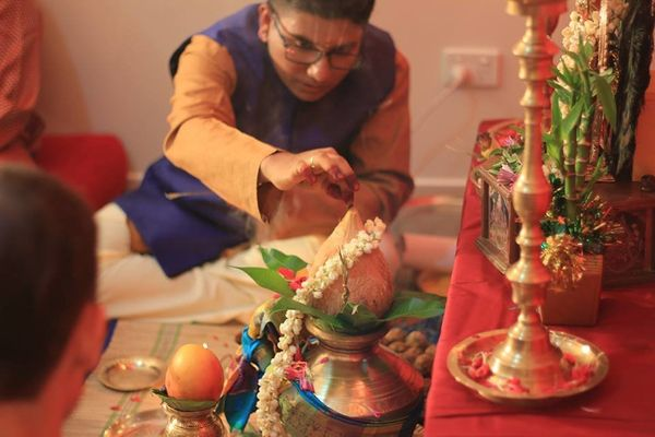 As the couple found no priest willing to conduct the ceremony, Salaphaty, who is a fully trained priest, conducted the r