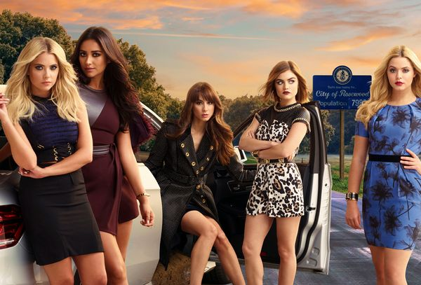 "At this point, I'm hate-watching ""Pretty Little Liars.""  I've never actually wished that a show I watch gets cancel"
