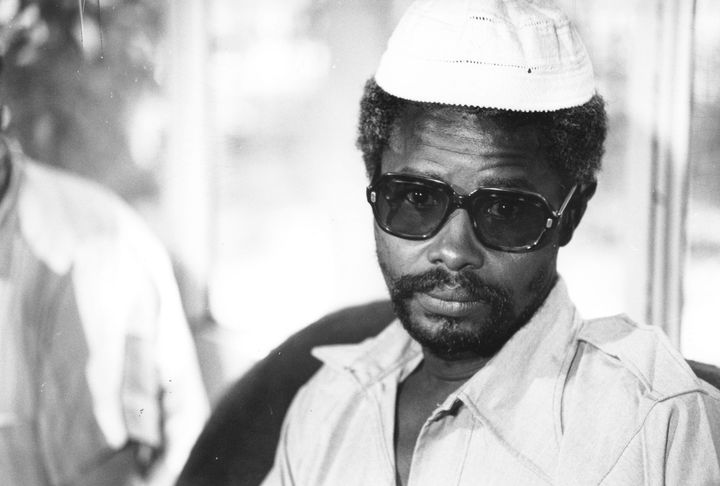 Chadian dictator Hissène Habré (pictured in 1982) had thousands of people kidnapped, tortured, and killed