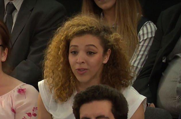 Student Soraya Bouazzaoui said she wanted to give Cameron a