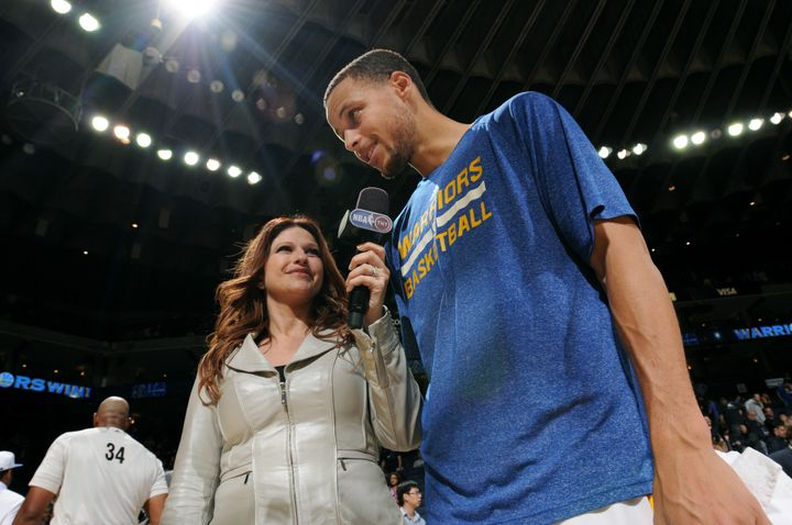 She's got all the information she needs from Stephen Curry for these NBA Finals.