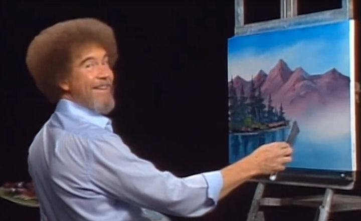 You Can Relax Now Because Netflix Is Streaming Bob Ross Huffpost
