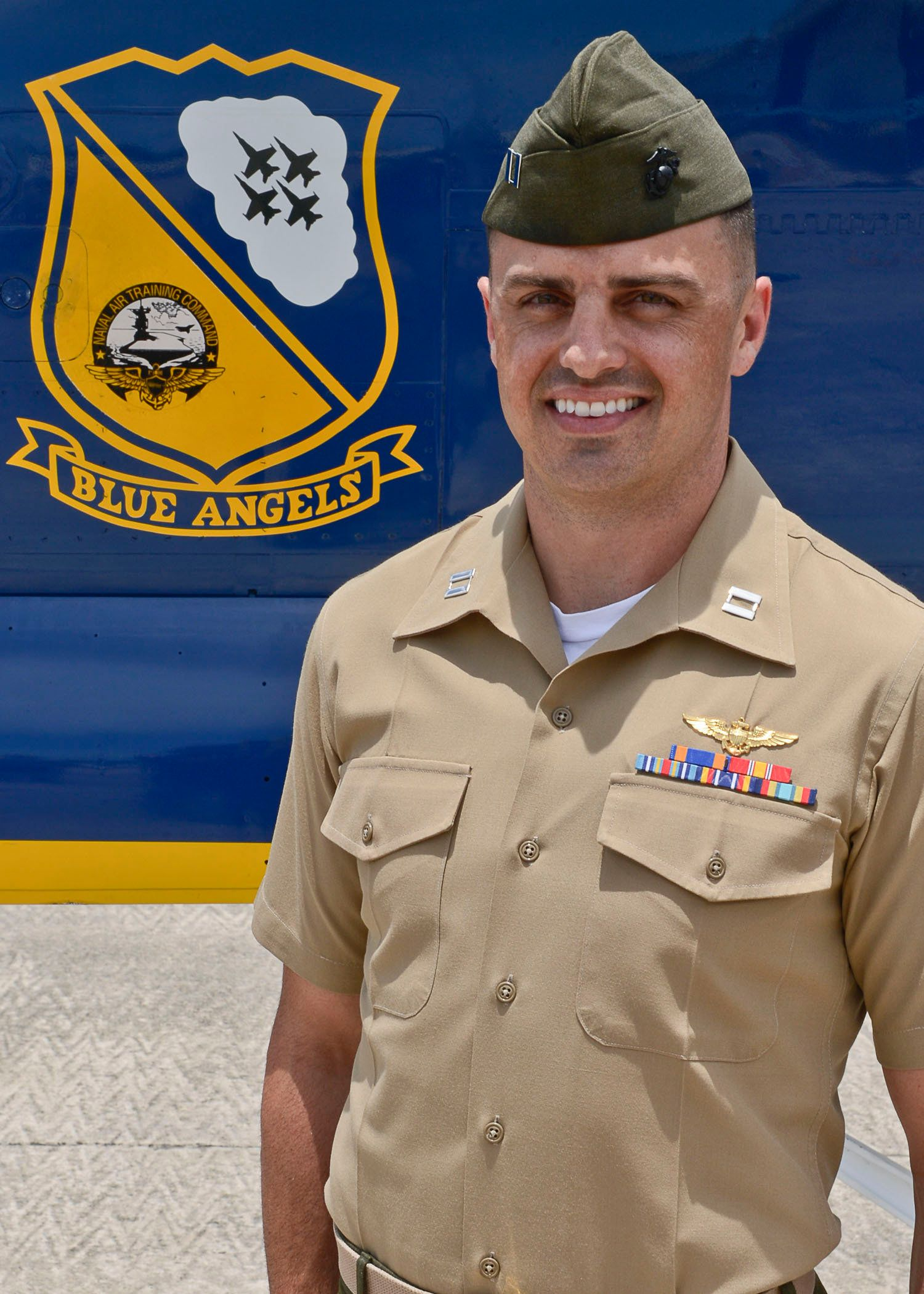 Marine Capt. Jeff Kuss, 30, of Durango, Colo., is currently assigned to Marine Fighter Attack Squadron 312 (VMFA-312) Marine Corps Air Station Beaufort, S.C.  He is a 2006 graduate of Fort Lewis College, Durango, Colo.